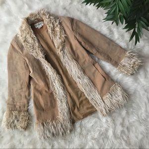 Jackets & Blazers - Vintage Genuine Leather Coat